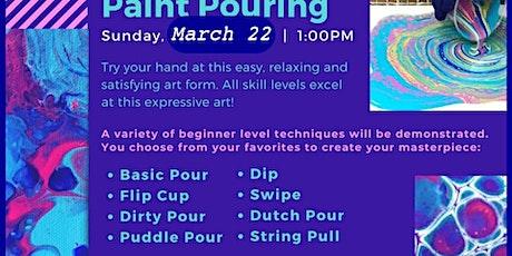 Paint Pour Workshop at Nest Creative! tickets