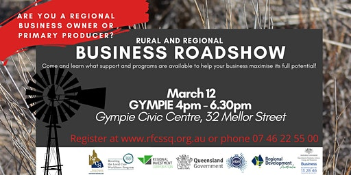GYMPIE Rural and Regional Business Roadshow