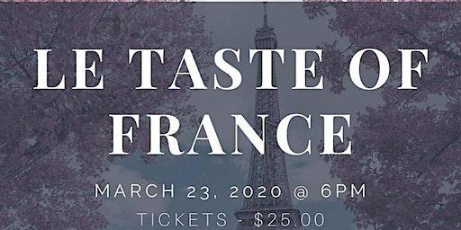 LE TASTE OF FRANCE