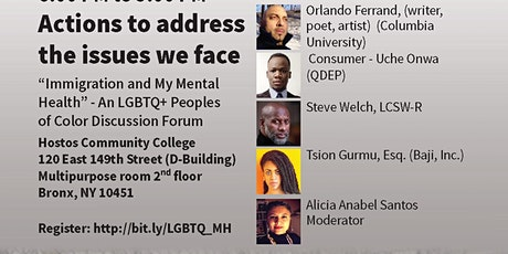 """""""Immigration and My Mental Health"""" - An LGBTQ+ Peoples of Color Discussion tickets"""