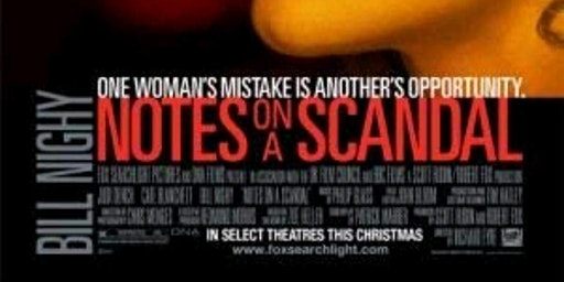 Free Movie (Incl. Popcorn & A Drink) - Notes On A Scandal