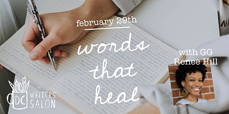 DC Writers' Salon: Words That Heal tickets