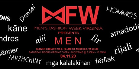 Men's Fashion Week Virginia Present MEN tickets