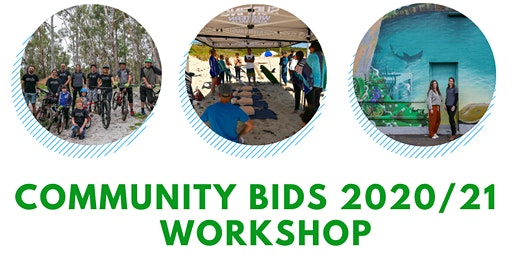 Community Bids 2020/21 Workshop