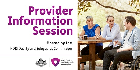 Provider Information Session, Perth tickets