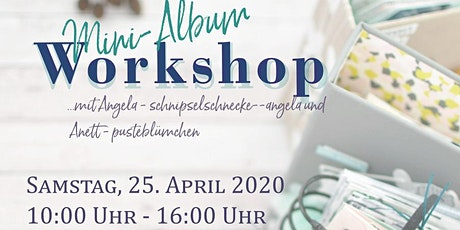Workshop Minialbum  Tickets