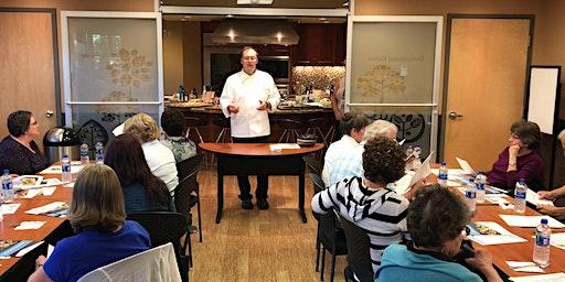 Parkinson's Cooking Class: Chef Greg Cabeza