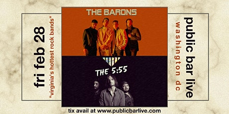 The Barons + The 5:55 at Public Bar Live DC tickets