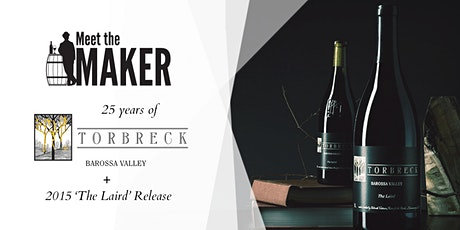 25 Years of Torbreck Dinner + 2015 'The Laird' Release // 20th May, 6:30PM tickets