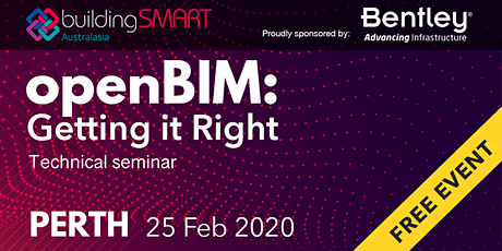 openBIM: Getting it Right Technical seminar (Perth) tickets