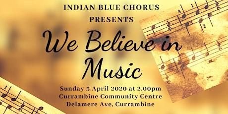 We Believe in Music tickets
