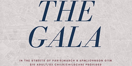 "The Gala -"" In the Streets of Paris"" tickets"