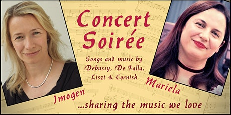 Concert Soirée with Imogen and  Mariela tickets