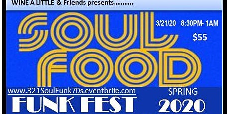 Soul Food Funk Fest 2020 & After Party w/DJ Energizer tickets
