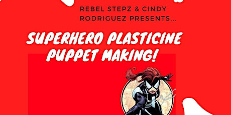 Superhero Plasticine Puppet Making tickets