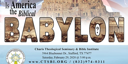 America: Last Day Biblical Babylon
