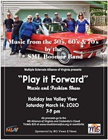 """Play it Forward"" music from the 50's, 60, & 70's by the SML Boomer Band & fashion show"