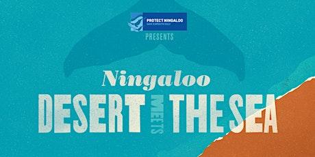 Ningaloo- desert meets the sea tickets