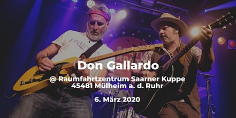 Don Gallardo (USA) | Raumfahrtzentrum Saarner Kuppe Tickets