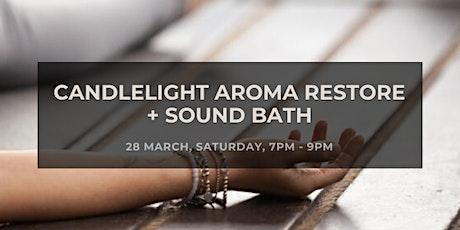 Candlelight Aroma Restore + Sound Bath tickets