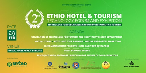 2nd Ethio Hotel & Tourism Technology Forum and Exhibition