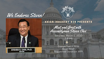 AIB2B Presents Meet and Greet with Assemblyman Steven Choi