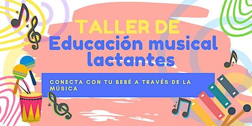 TALLER DE EDUCACIÓN MUSICAL PARA LACTANTES