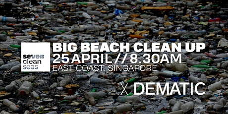 Big Beach Clean Up - by Seven Clean Seas X DEMATIC ingressos