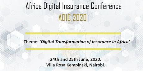 Africa Digital Insurance Conference (ADIC 2020) tickets