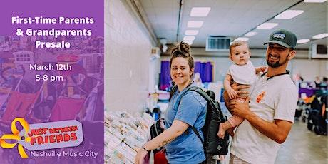 FIRST-TIME PARENTS/GRANDPARENTS PRESALE | SPRING 2020 - Nashville Music City JBF tickets