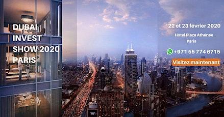Dubai Property Show - Paris 2020 billets