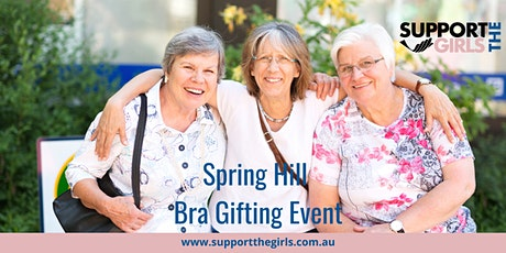 Support The Girls Australia Bra Gifting Day - Spring Hill Hall tickets