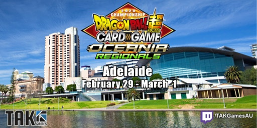 Dragon Ball Super Card Game - Oceania Regional - Adelaide, SA