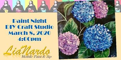 DIY Craft Studio Presents Paint Night