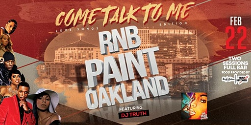 "RNBPAINT : FEBRUARY ""COME TALK TO ME""( LOVE SONG EDITION)"