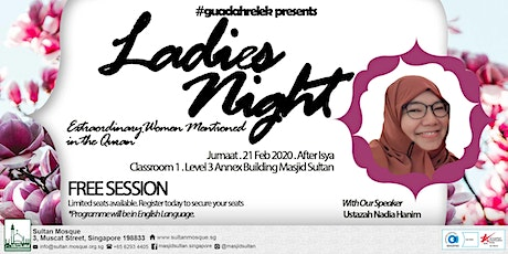 Guadahrelek Presents - Ladies Night (Postponed until further notice) tickets