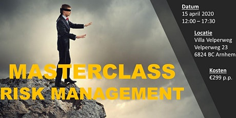 Masterclass Risk Management tickets
