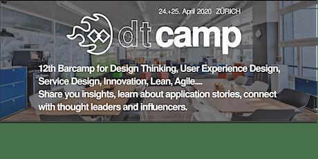 #dtcamp20 Zürich - 12th Barcamp Design Thinking tickets