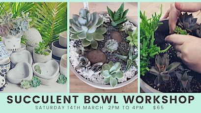 Succulent Bowl Workshop tickets