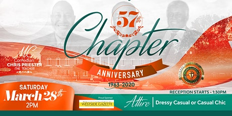 FAMU NAA Broward Alumni 57th Chapter Anniversary. tickets