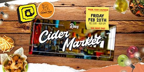 Revs Market #4 - Cider & Arts tickets