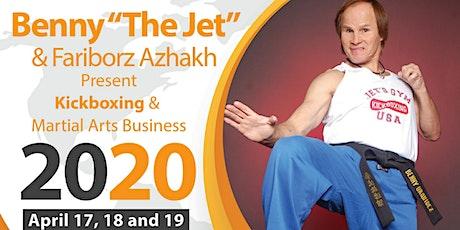 "SENSEI BENNY ""THE JET"" URQUIDEZ & SENSEI FARIBORZ AZHAKH   Kickboxing & Martial Arts Business 3-Day Seminar tickets"