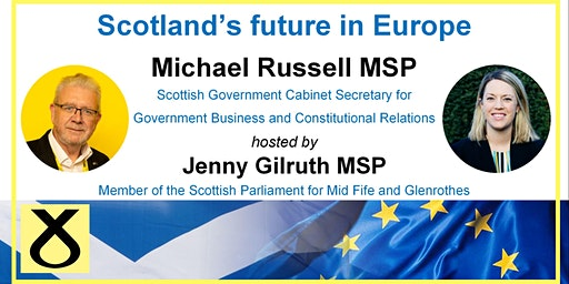 Scotland's Future in Europe: Michael Russell MSP in conversation