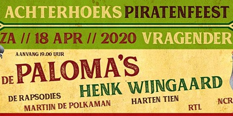 Achterhoekse piratenfeest tickets