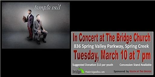 Temple Veil in Concert