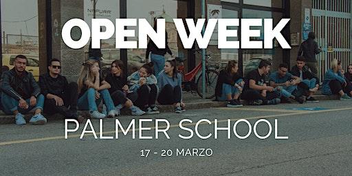 Open Week | Marzo 2020 | Palmer School