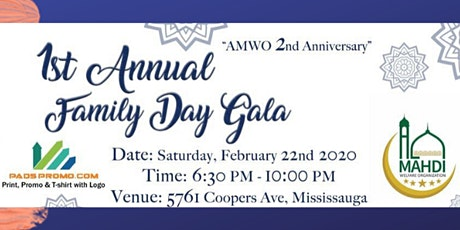AMWO 1ST ANNUAL FAMILY DAY GALA tickets