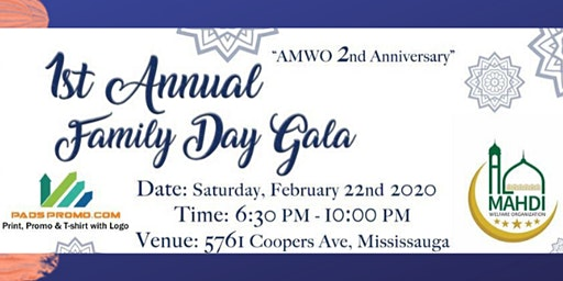 AMWO 1ST ANNUAL FAMILY DAY GALA