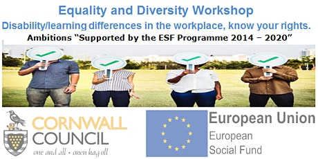 Equality and Diversity at Work - Workshop tickets