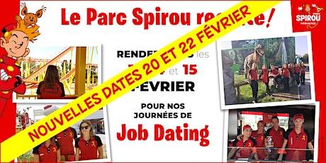 Job Dating au Parc Spirou : Session 2 billets